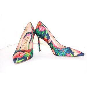Sam Edelman Shoes - Sam Edelman Hazel Vibrant Floral Print Point Pumps